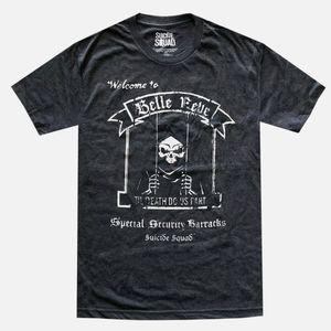 Belle Reve Black/Charcoal Heather Men's T-Shirt
